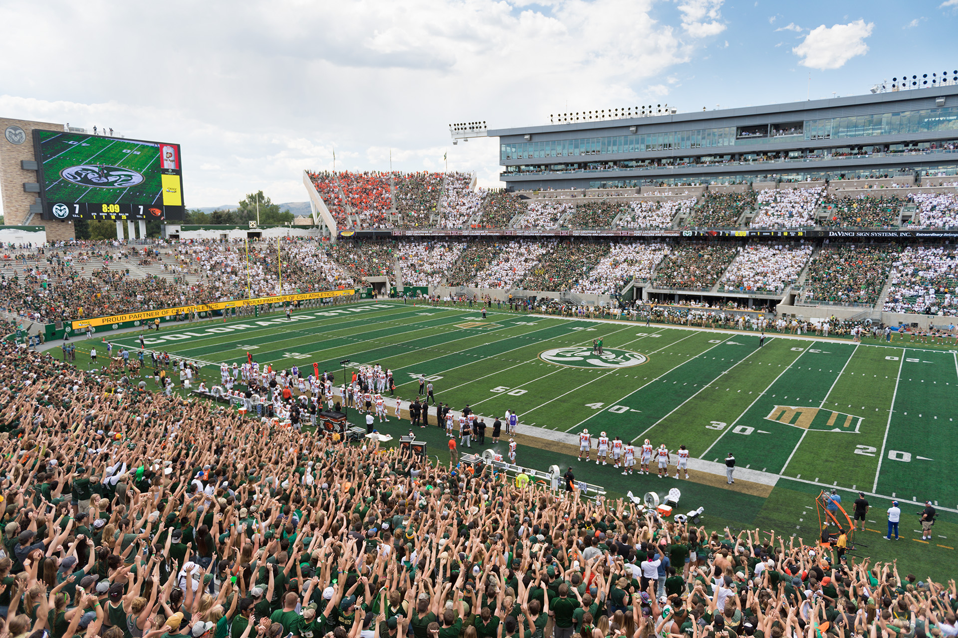CSU Stadium crowd