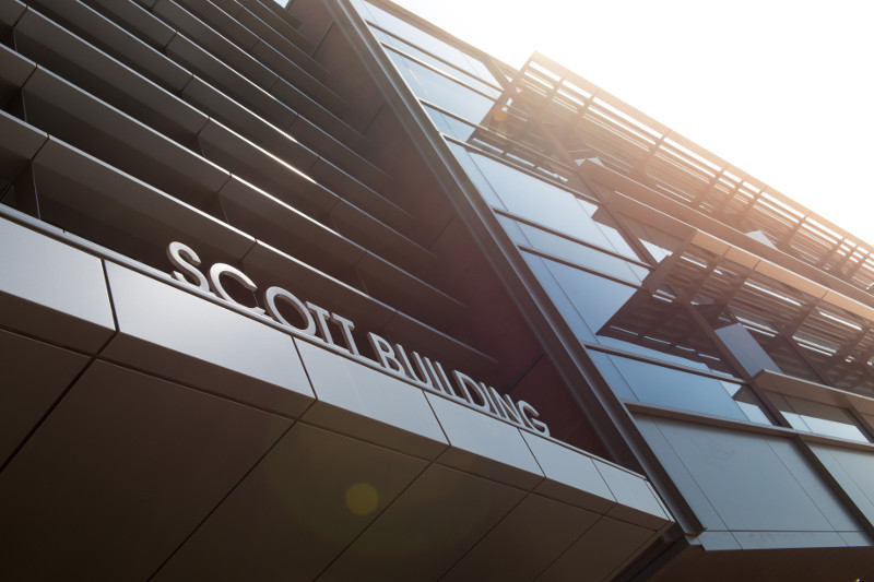 scott building sign