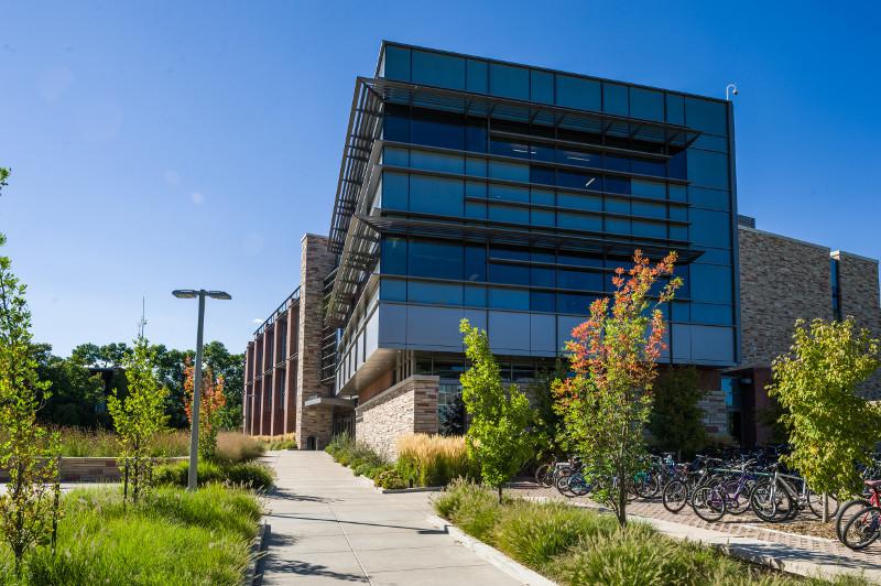walkway to bioengineering building