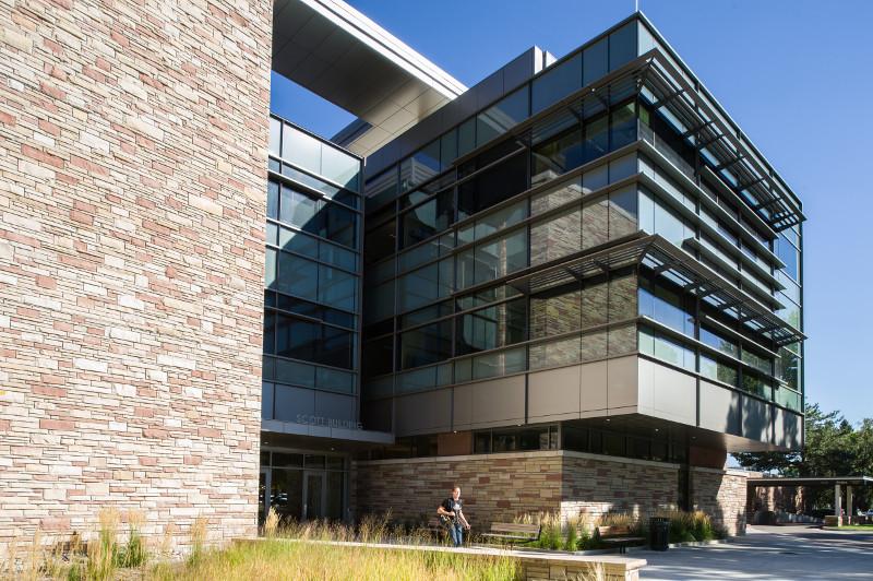 front of bioengineering building