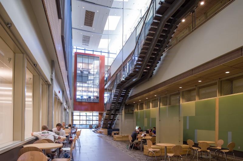 bioengineering building atrium