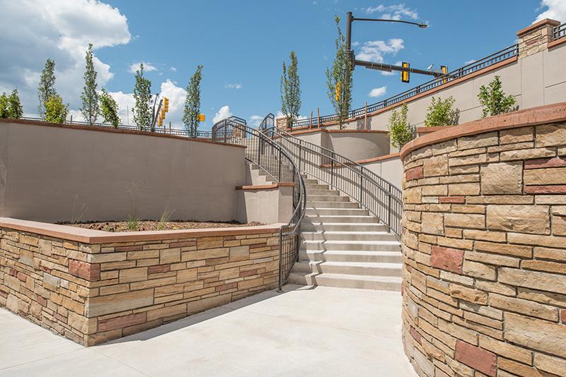 stairway at shields street underpass