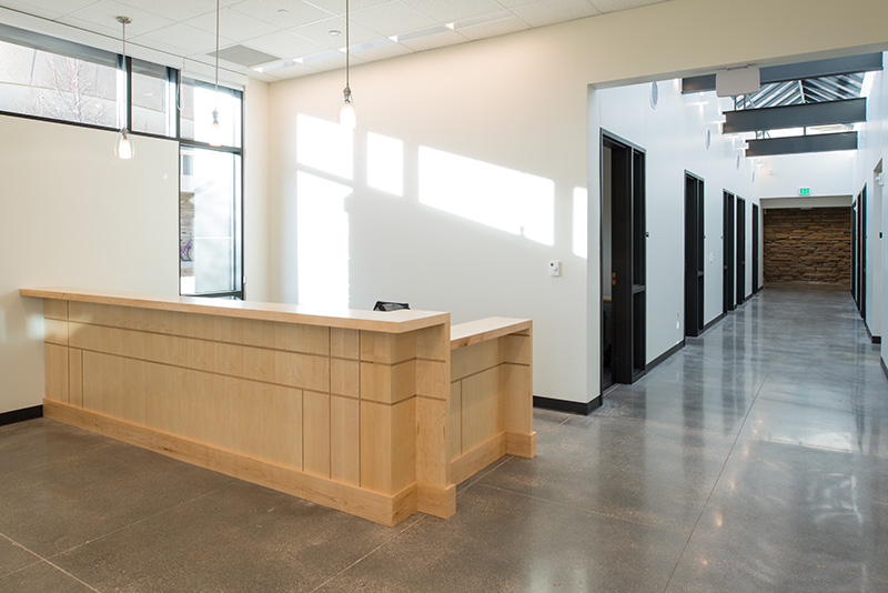 health and exercise science front desk