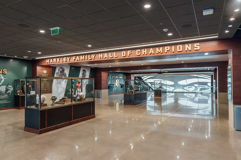 multipurpose stadium hall of champions