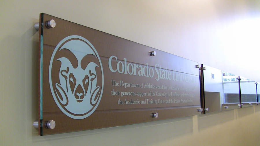 csu sign thanking donors