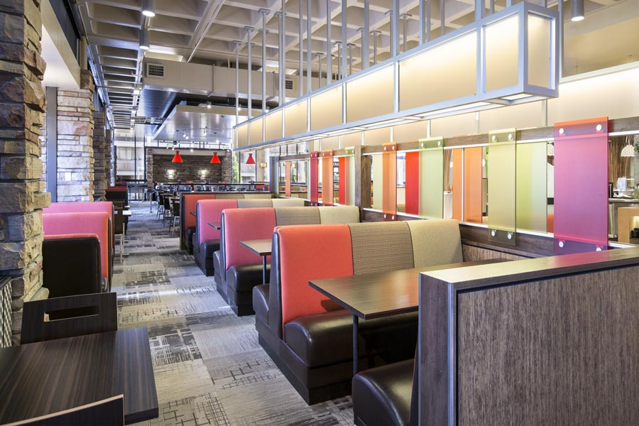 durrell center dining area