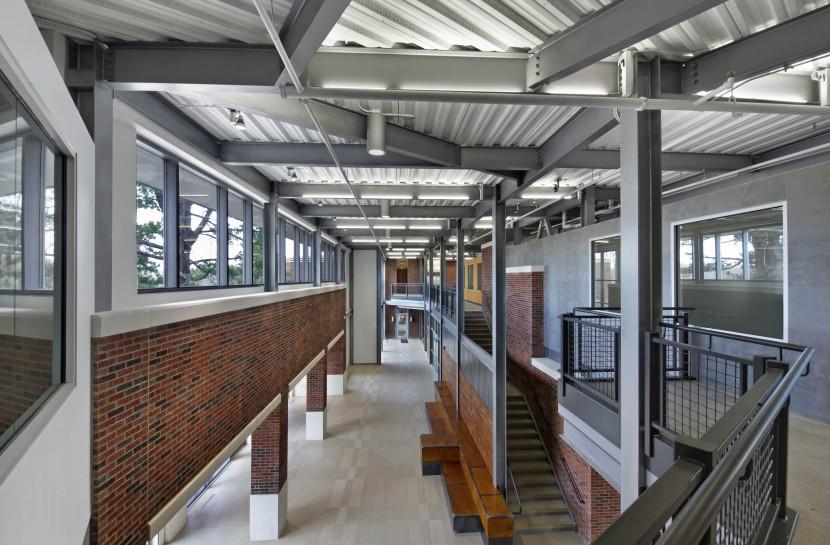 powerhouse foyer from second floor