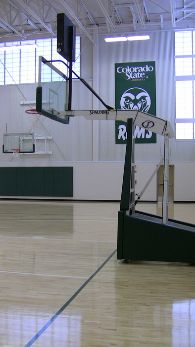 indoor practice facility basketball court