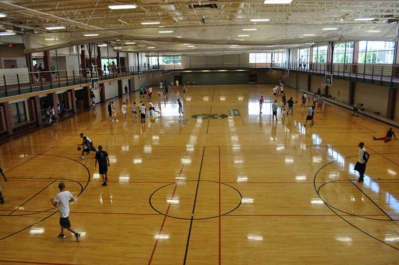 rec center basketball courts
