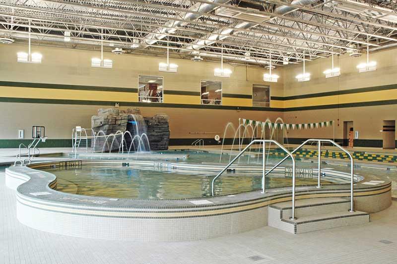 rec center hot tub