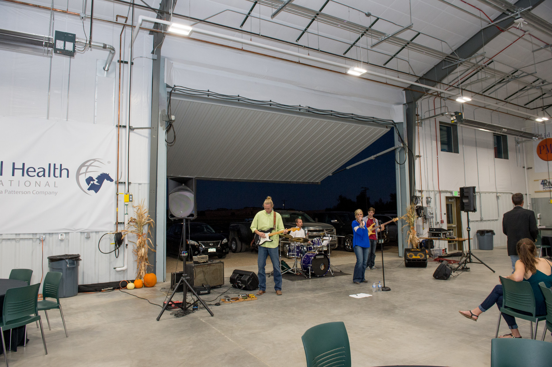 Band Playing at the Center for Agricultural Education