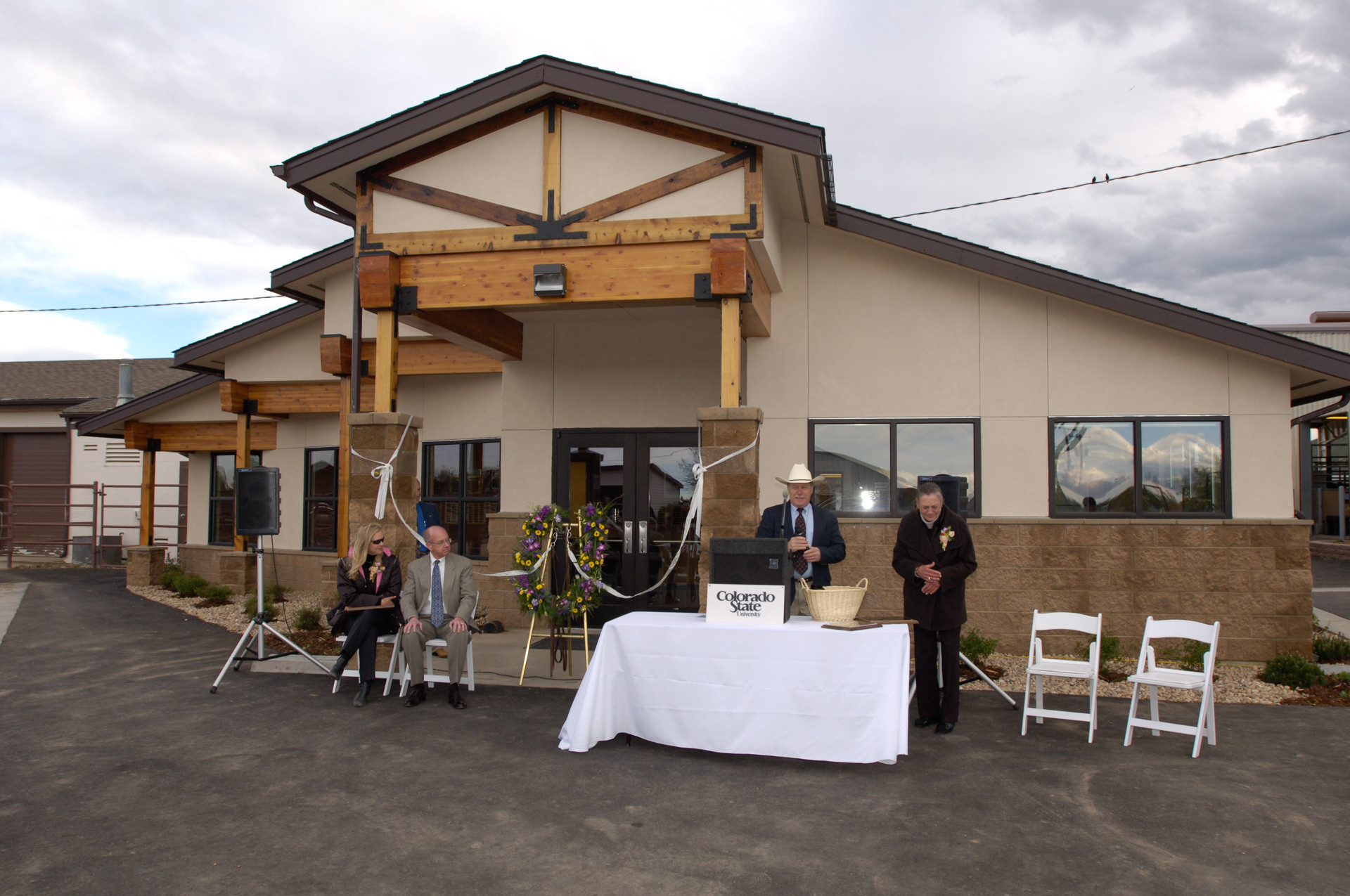 Equine Reproduction Laboratory Grand Opening