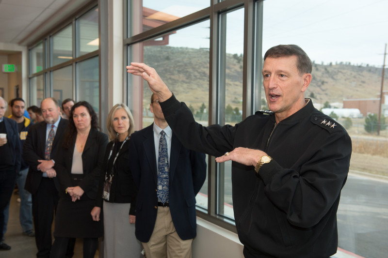 A tour of the Advanced Beam Lab at the Foothills campus
