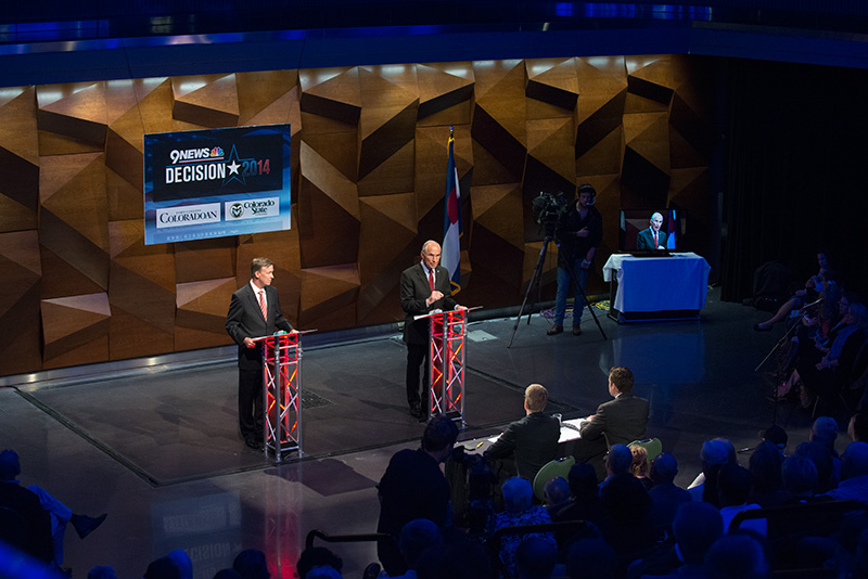 Colorado Governor Debate at the Lory Student Center Theatre