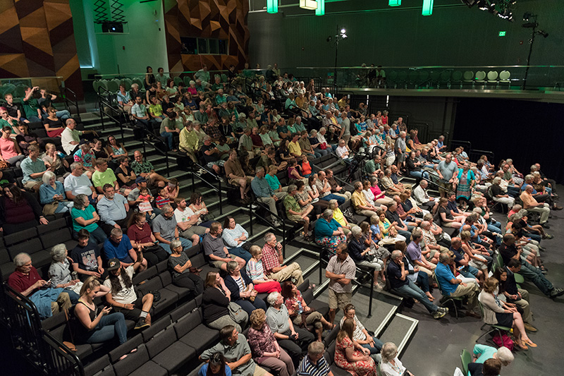 Lory Student Center Theatre with audience