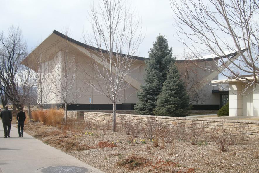 Lory Student Center Theatre Exterior