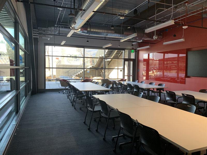 Nancy Richardson Design Center classroom