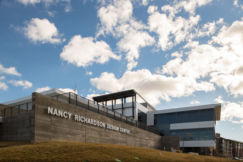 Nancy Richardson Design Center exterior