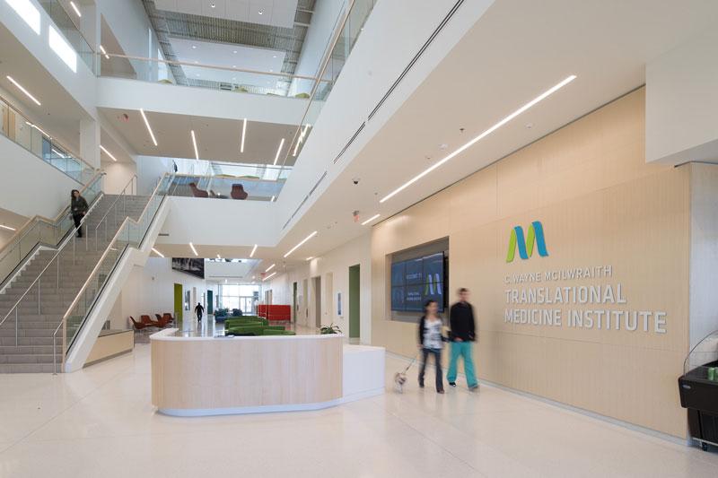 C. Wayne McIlwraith Translational Medicine Institute lobby