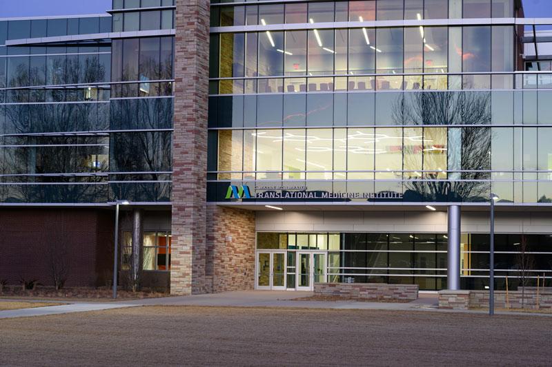 C. Wayne McIlwraith Translational Medicine Institute Front Entrance
