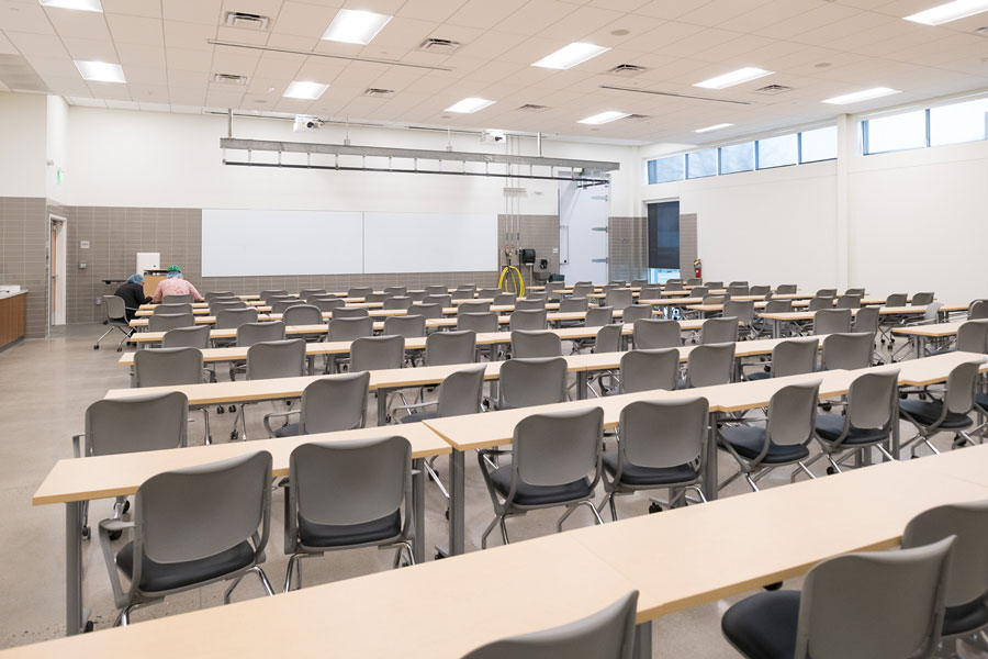 JBS Global Food Innovation Center classroom