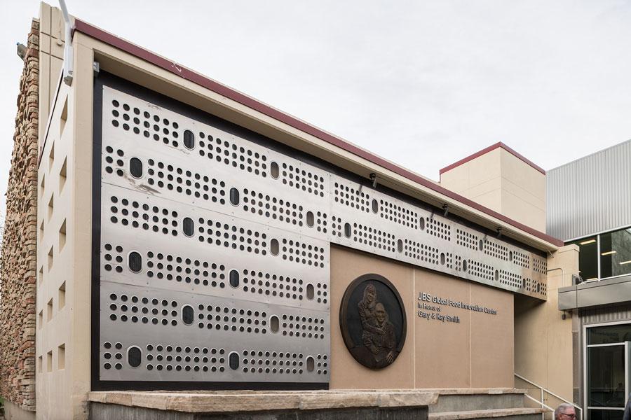 JBS Global Food Innovation Center exterior