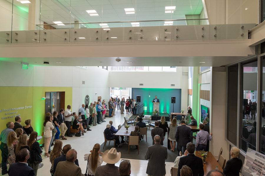 JBS Global Food Innovation Center grand opening ceremony
