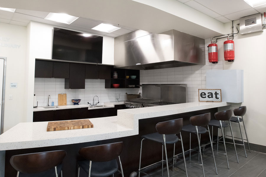 JBS Global Food Innovation Center kitchen