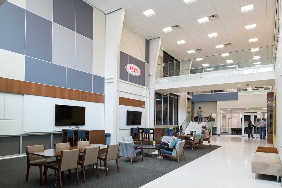 JBS Global Food Innovation Center lobby