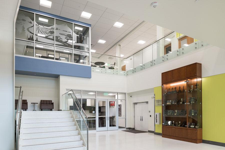 JBS Global Food Innovation Center lobby