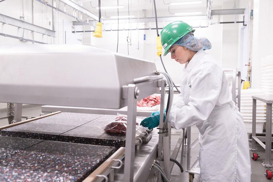 JBS Global Food Innovation Center processing area